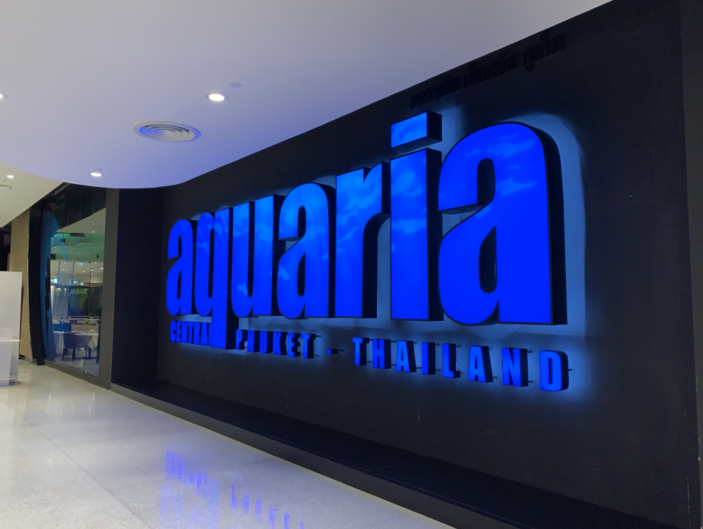 Aquaria Phuket best aquarium in phuket thailand
